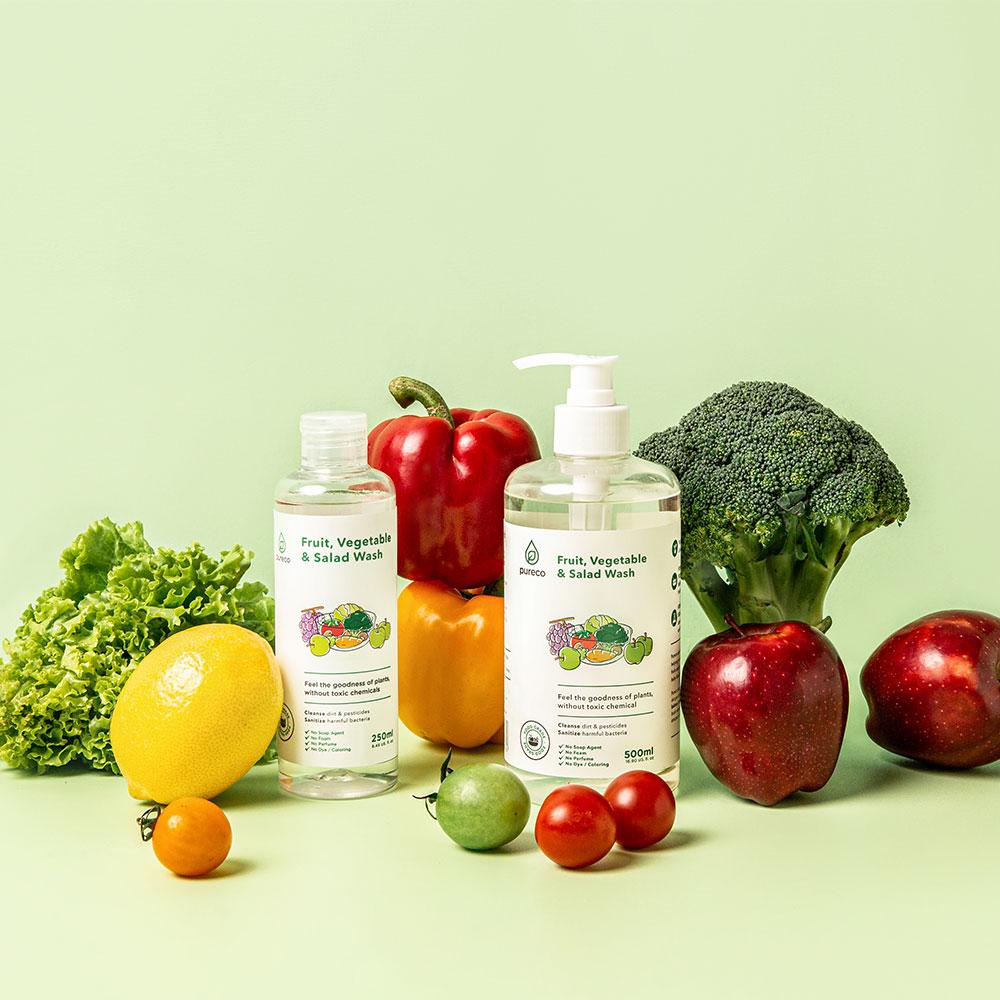 FRUIT, VEGETABLE, & SALAD WASH